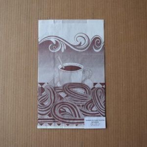 bolsa papel antigrasa churros