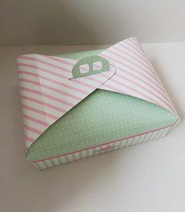 caja ágata rectangular