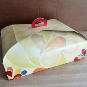 cajas de cartón para tartas rectangular