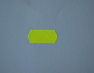 etiqueta máquina 26x12 amarillo