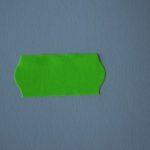 rollo etiquetas 26x12 verde