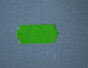 etiqueta máquina 26x12 verde