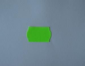 etiqueta precio 26x16 verde