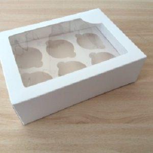 cajas cupcakes 6 unidades
