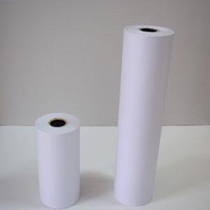 rollo papel celulosa blanco
