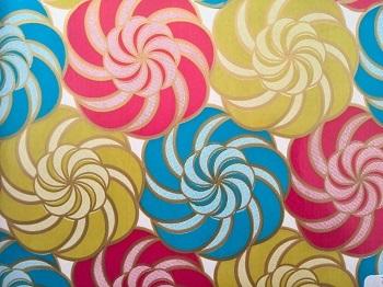 rollo papel decorado