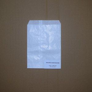 bolsas de papel sin asa, blanca