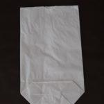 bolsas de papel blanca sin asa