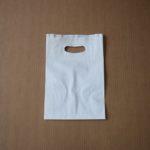 bolsa papel asa riñón blanco