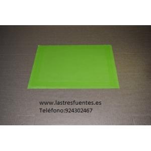 Mantel Verde Pistacho Individual