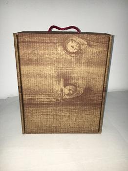 Caja de cartón para regalos