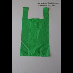bolsa verde de camiseta verde