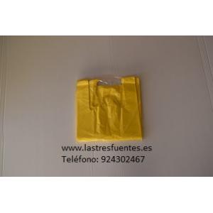 Bolsa Camiseta Amarilla 42X53