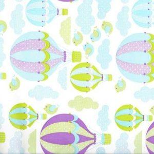 Bobina papel regalo globos