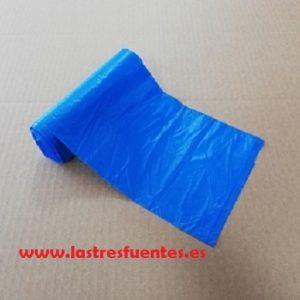 bolsas basura 55x55 azul