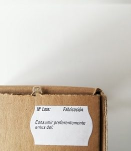 etiqueta 26x16 nº lote y fabricación