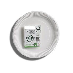 platos cartón bio coated