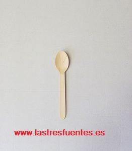 cuchara madera 16 cm