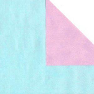 Bobina papel regalo rosa azul