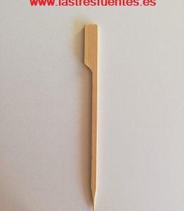 Pincho con agarrador bambú