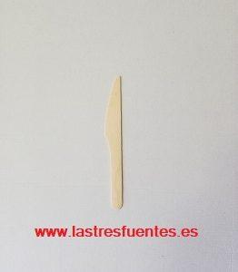 cuchillo madera 16 cm