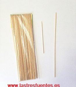pinchos de madera