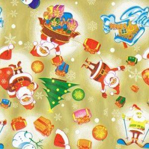 Bobina papel regalo navidad