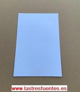 Láminas dispensadoras blanca y plata