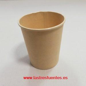 vaso cartón biodegradable nature