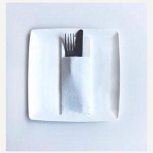 servilleta canguro de papel punta punta 40x32 blanco
